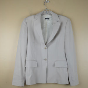 J Crew Women's Tan Beige Wool Lined Pockets Jacket